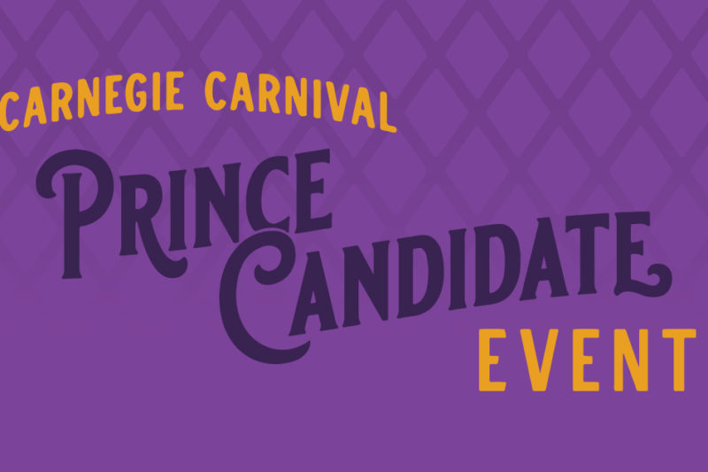 Carnegie Carnival Prince Candidate Event