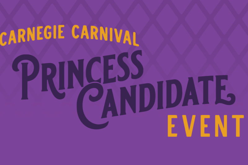 Carnegie Carnival Princess Candidate Event